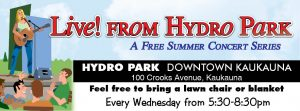 Live! from Hydro Park.....Sponsor Night @ Hydro Park | Kaukauna | Wisconsin | United States